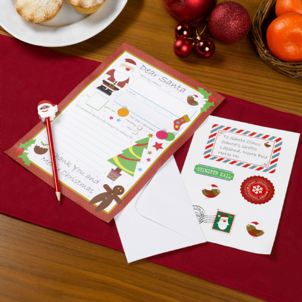 Christmas Craft - Letter To Santa Kit